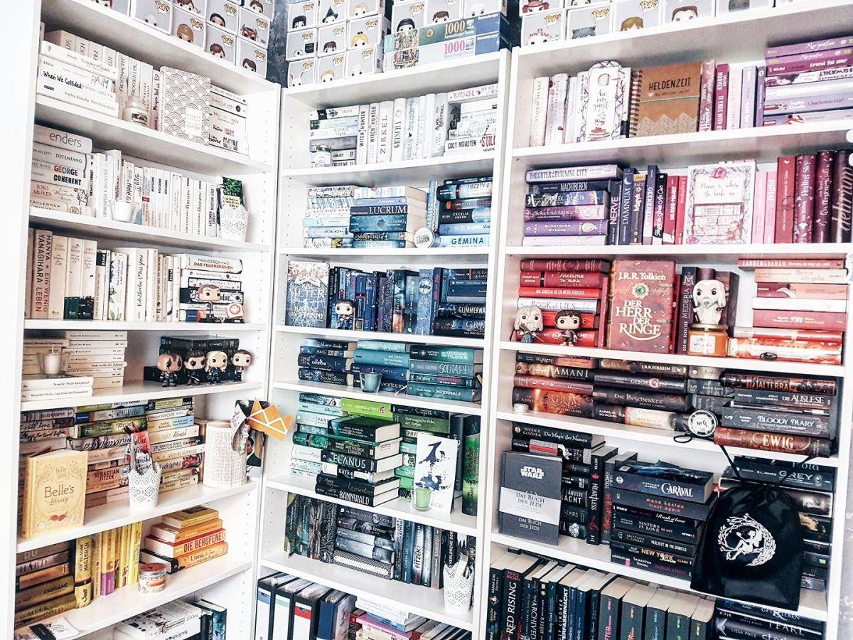 Projekt: Bücherregale nach Farben sortieren | Fragen & Antworten