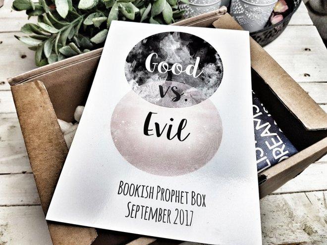 Bookish Prophet September Good vs Evil