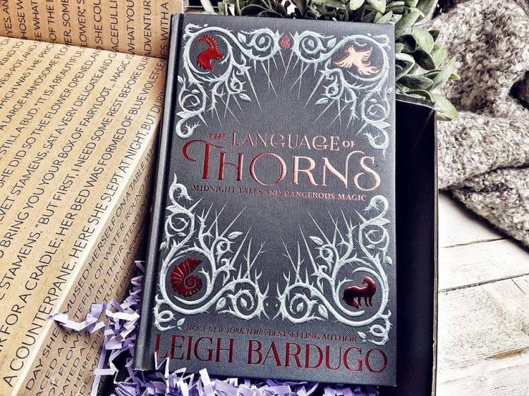 FairyLoot Oktober The Language of Thorns Leigh Bardugo