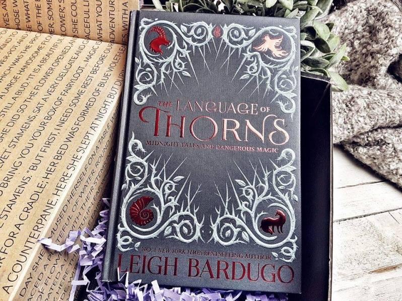 FairyLoot Oktober The Language of Thorns Leigh Bardugo