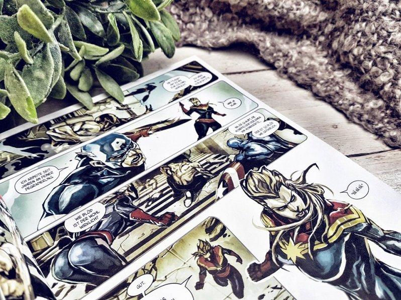 Captain Marvel innen