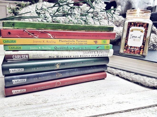 Harry Potter Schulbücher