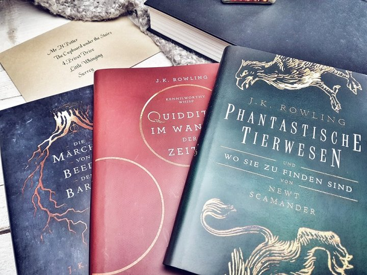 Harry Potter Schulbücher4