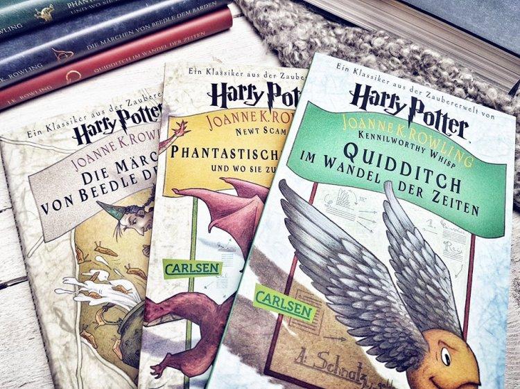 Harry Potter Schulbücher5