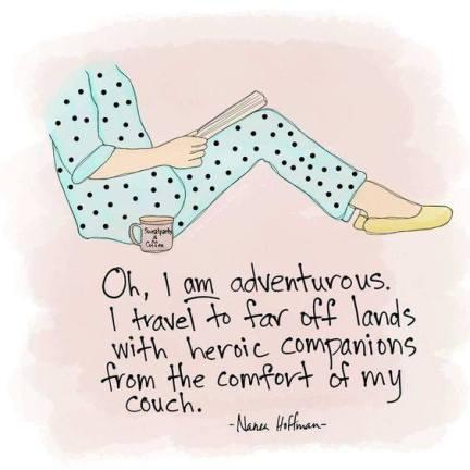 adventurous reading
