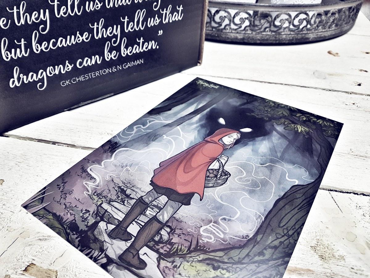 Unpacking: FairyLoot Box Februar | Twisted Tales - Praktischer Nutzen statt liebevolle, verspielte Kreativität