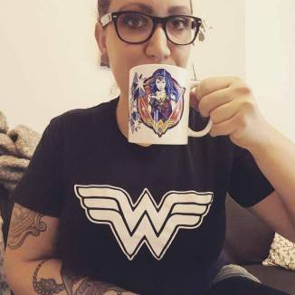 Wonder Woman Tasse Shirt