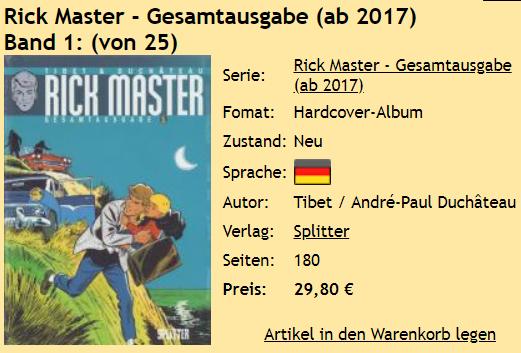 Rick Master Band 1