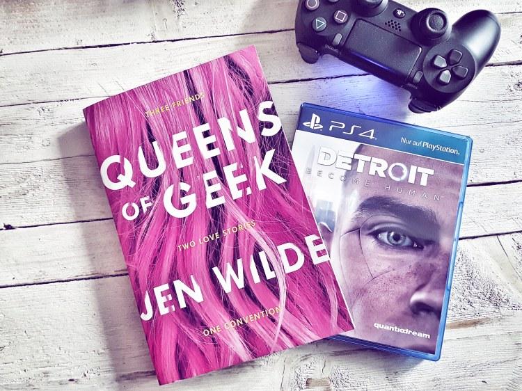 Queens of Geek Detroit Become Human