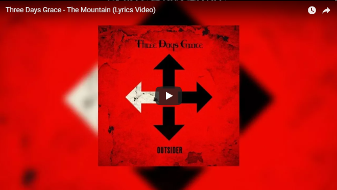 Three Days Grace The Montain