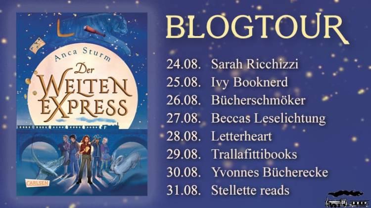 Blogtour Welten-Express
