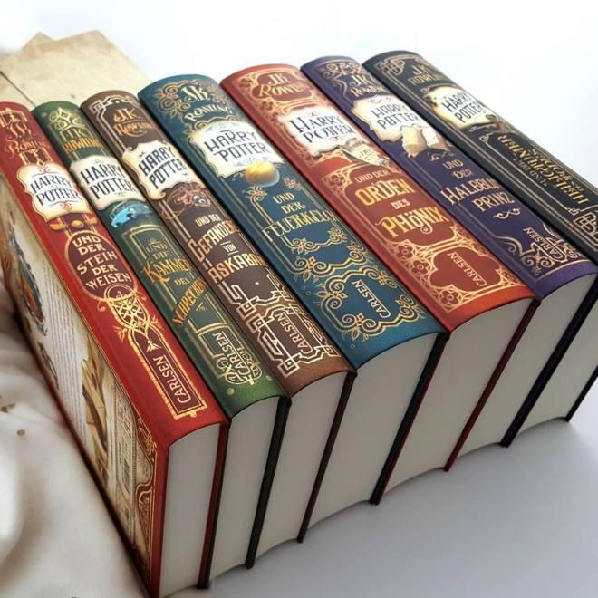 Harry Potter neue Ausgaben