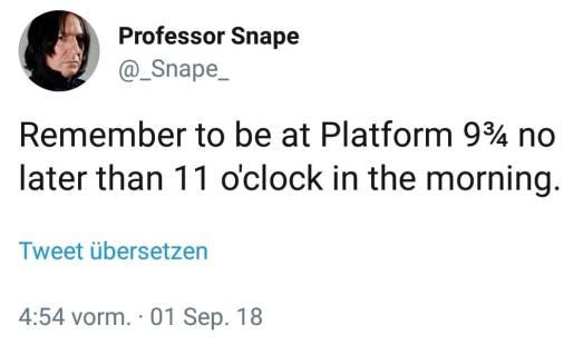 Hogwarts Schulbeginn