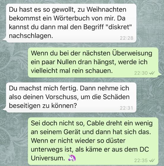 Deadpool Chat