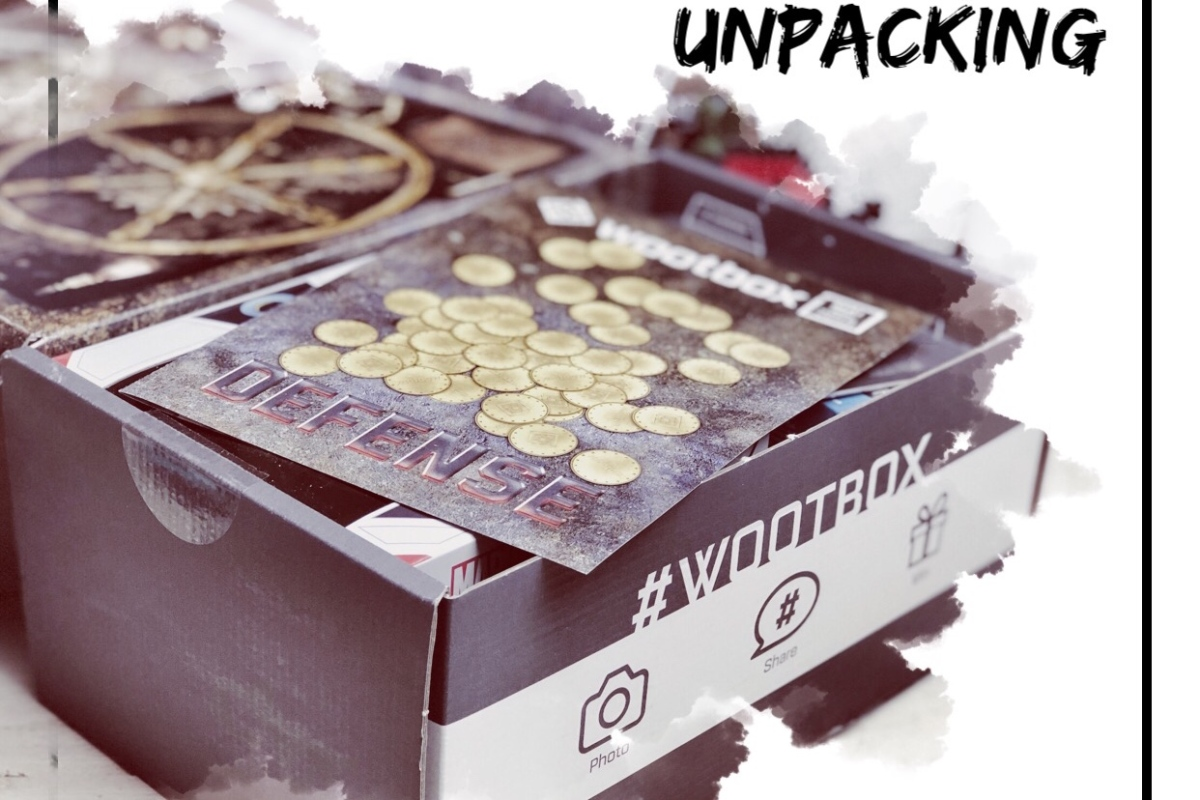 Unpacking Wootbox Mai - DEFENSE |Werbung